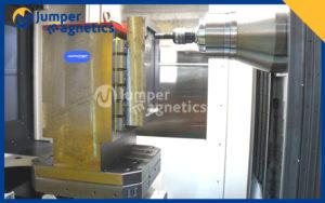 horizontal magnetic chuck on cnc application