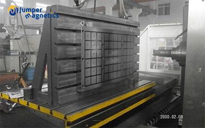 horizontal machining magnetic chuck