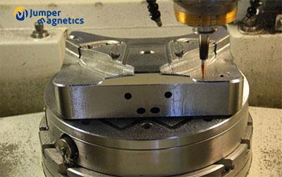 5 axis circular magnetic chuck