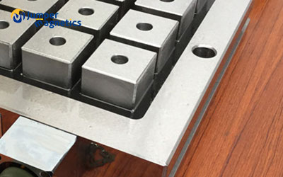 pole extensions for magnetic workholdings