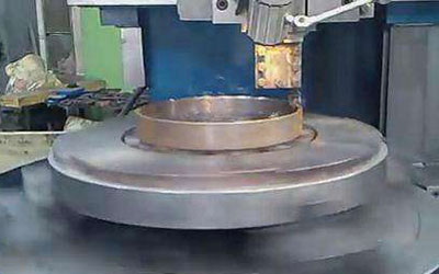 rotary magnetic chuck